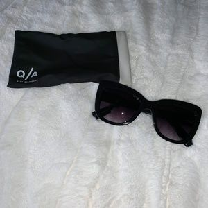 Quay Breath of Life Black Sunglasses